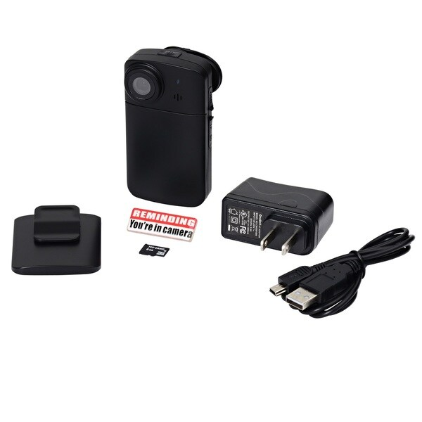 Top Dawg Eagle Eye 720p Wide Angle Personal DVR Body Cam