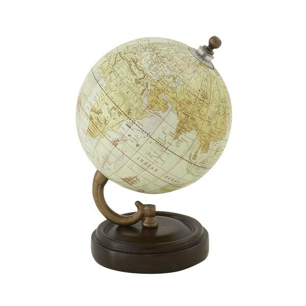 Simply Classy Wood Metal PVC Globe