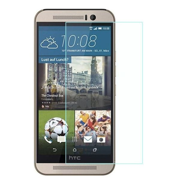 Insten Clear Tempered Glass LCD Screen Protector Film Cover For HTC One M9