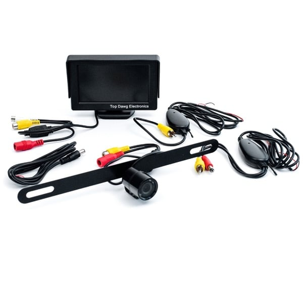 Top Dawg Commercial Heavy Duty Wireless Rear View Camera with 7-inch Display