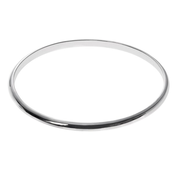 Journee Collection Sterling Silver Bangle Bracelet 15392000