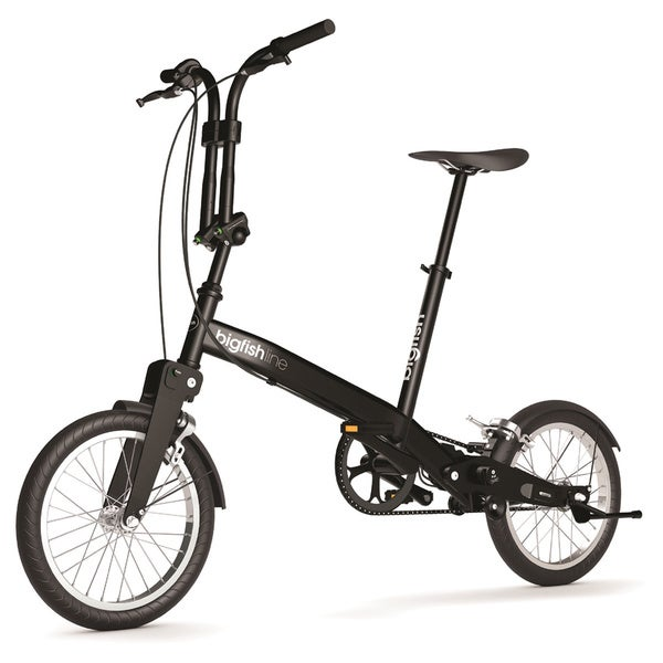 Bigfish Line Black Folding Bike