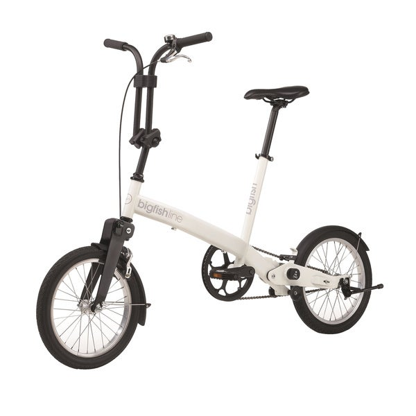 Bigfish Line White Folding Bike