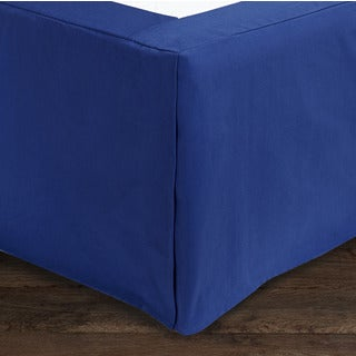 Jennifer Taylor Royal Blue Oversized Bedskirt