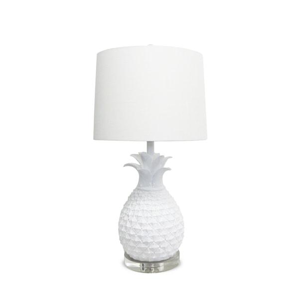 White Pineapple Lamp