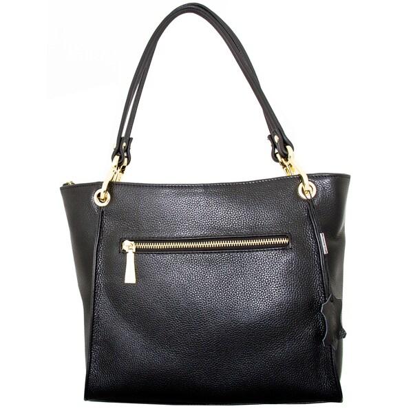 Leatherbay Rimini Small Tote Bag