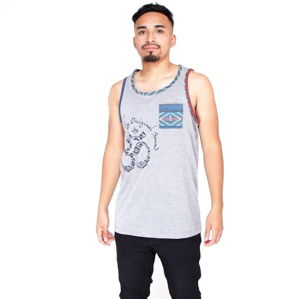 Men's Grey Muscle Tank Top (India)