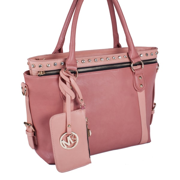Michael Michelle Meri Two-Tone 2 in 1 Tote