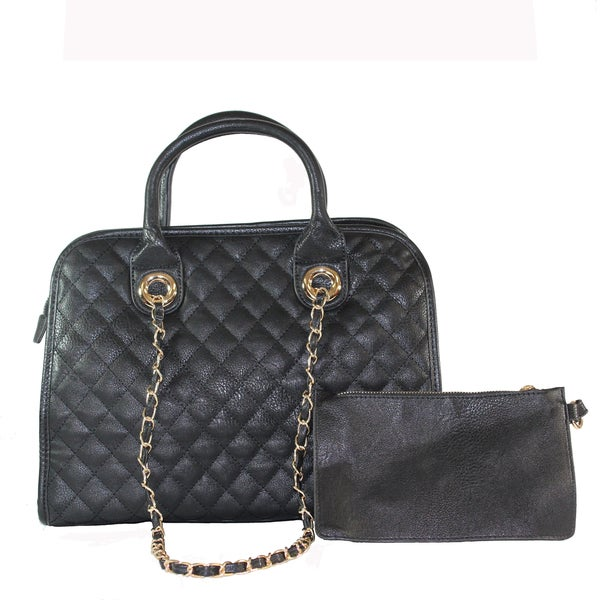 "Lithyc ""Rory"" Quilted Satchel"