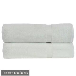 Luxury Hotel & Spa Turkish Cotton Dobby Bathsheet (Set of 2)