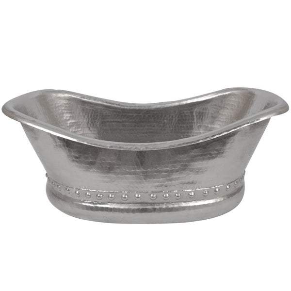 Premier Copper Products Bath Tub Vessel Hammered Copper Sink in ...