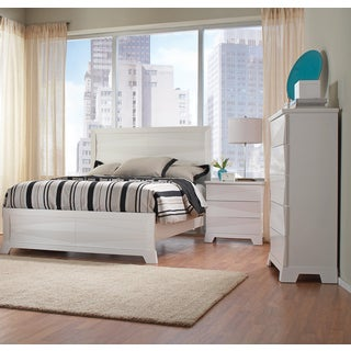 Sunny Isles White 3-Piece Bedroom Collection