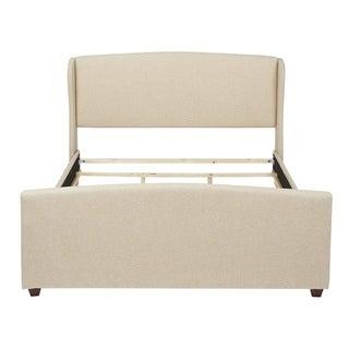 Jennifer Taylor Tan King Upholstered Bed