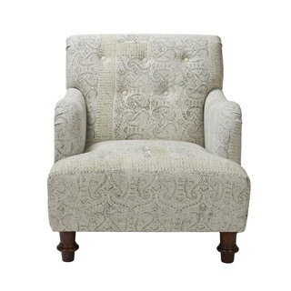 Stone-washed Sage Arm Chair