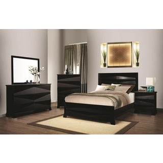 Sunny Isles Black 4-Piece Bedroom Collection