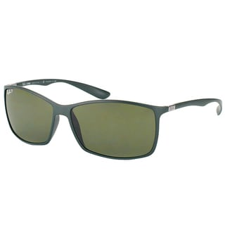 Ray-Ban Tech Unisex RB 4179 Liteforce 6125/9A Matte Military Green Polarized Sunglasses