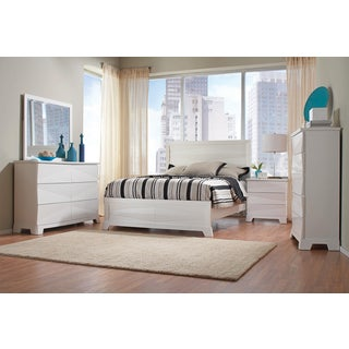 Sunny Isles White 5 Piece Bedroom Collection