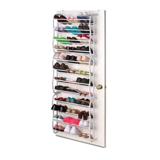 Sunbeam Over the Door 36 Pair Shoe Rack
