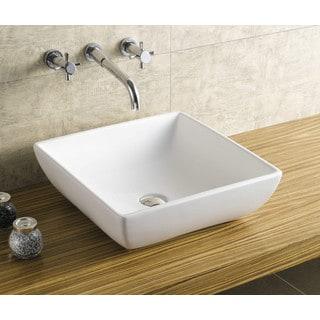 Acquatech Latitude-18 Square Ceramic Sink