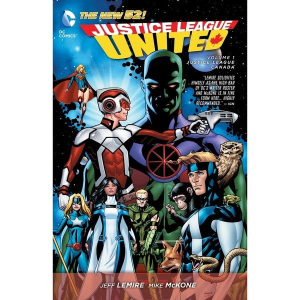 Justice League United 1: Justice League Canada (The New 52!) (Paperback) 15394507