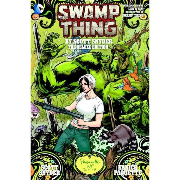 Swamp Thing By Scott Snyder Deluxe Edition New 52 (Hardcover) 15394562