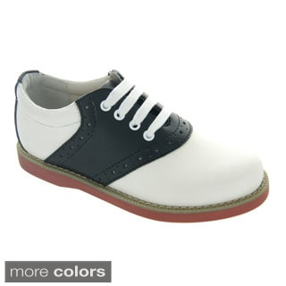Leather Saddle Shoe