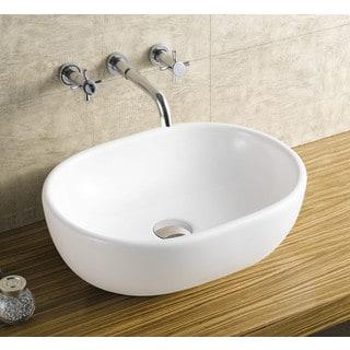 Acquatech Latitude-20 Oval Ceramic Sink