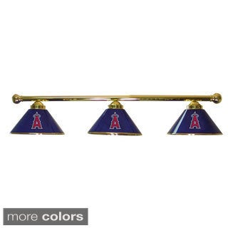 MLB Team 3-shade Metal Lamp Swags