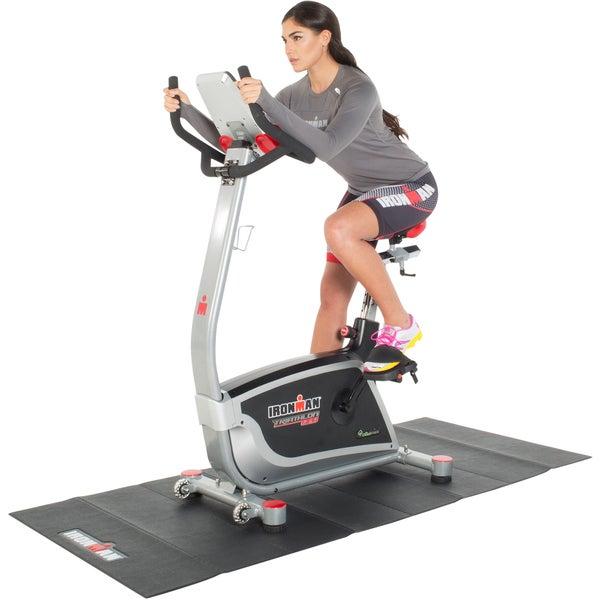 Ironman Triathlon X-Class 310 Upright Bike with Bluetooth, IronStrong apps, Air Soft Seat and Bonus Equipment Mat