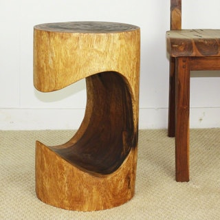 Bite Walnut Oil Stool (Thailand)