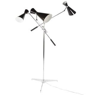 The Stouby Floor Lamp Black/Chrome