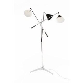 The Storup Floor Lamp Black/ Chrome