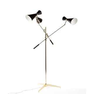 The Stouby Floor Lamp Black/ Gold