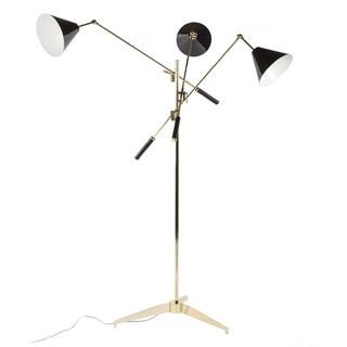 The Storup Floor Lamp Black/Gold