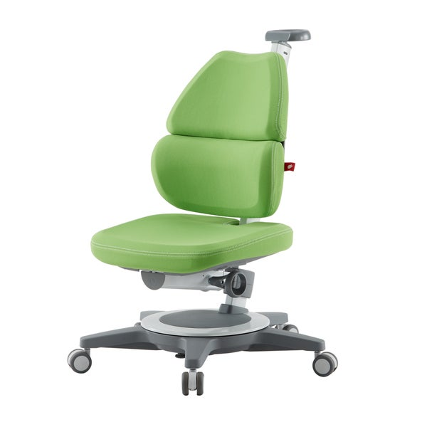 Ergonomic Kids' Memory Foam Green Desk Chair