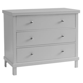 Sealy Bella 3-drawer Contemporary Grey Dresser
