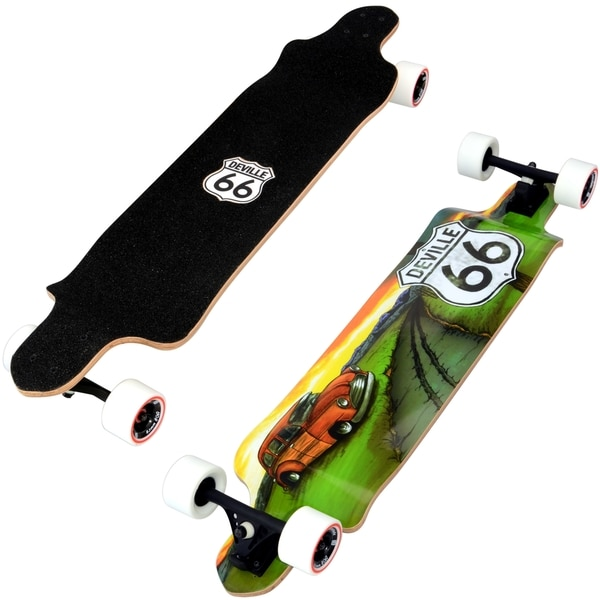 "Deville Interstate - 42"" Drop Deck Longboard"