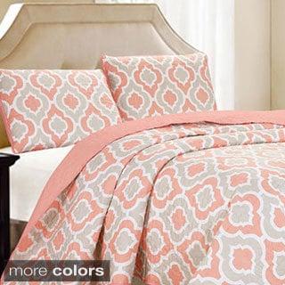 Sanford Moroccan Print 3-piece Quilt Set