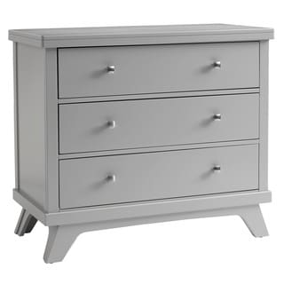 Sealy Bella 3-drawer Mid-century Grey Dresser