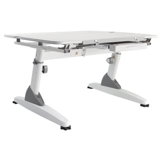 Kid 2 Youth Kid's Maple/ White Ergonomic Sit to Stand Desk