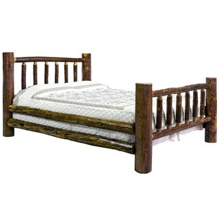 Belen 2-Piece Bed Room Set in Stained and Lacquered Finish