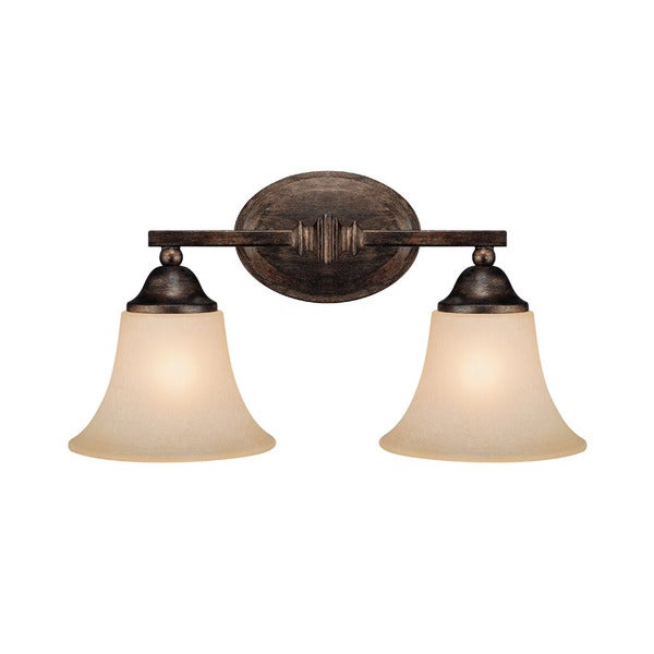 Capital Lighting Town and Country Collection 2-light Rustic Bath/Vanity Light