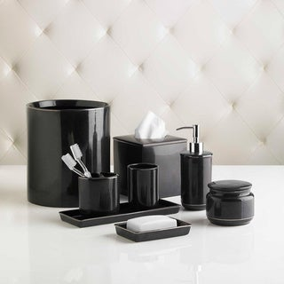 Black Platinum Bath Accessory Collection