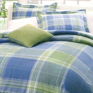 Park B. Smith Atelier Plaid Oversize 4-piece Comforter Set