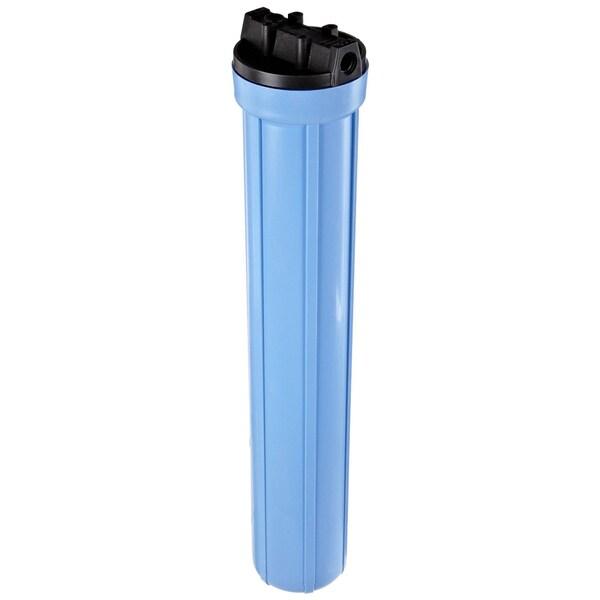 Pentek 158129 3/ 8-inch #20 Slim Line Blue Filter Housing