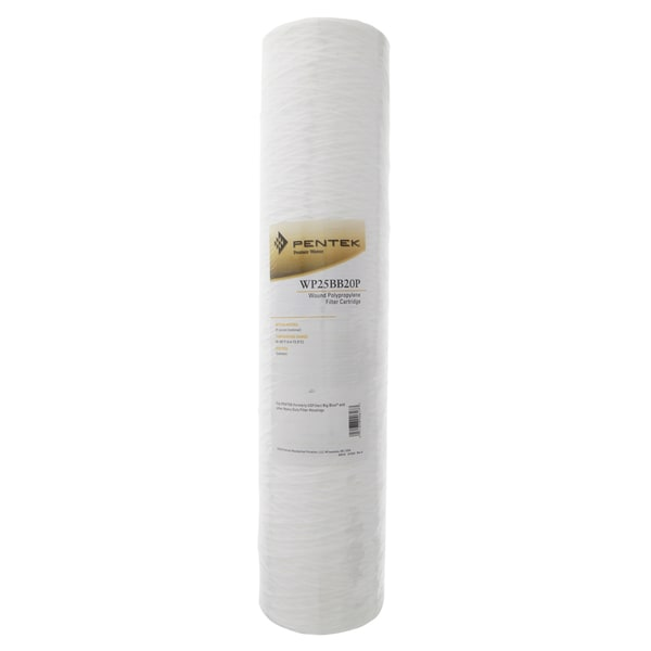 Pentek WP25BB20P 20-inch Wound Polypropylene Water Filter 15402720