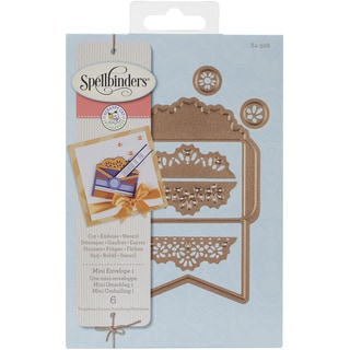 Spellbinders Designer DieMini Envelope 1 By Scrappy Cat