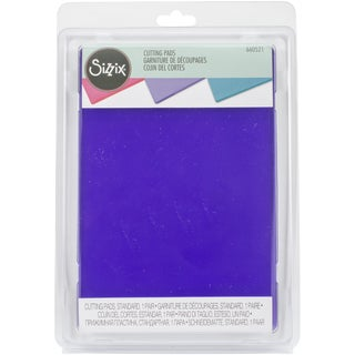 Sizzix Cutting Pads 6.125inX8.875in 1 PairStandard/Grape