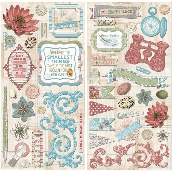 Garden Journal SelfAdhesive Chipboard