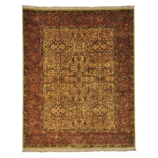 Handmade Golden Age Tabriz Design Oriental Rug (7'9 x 9'9)